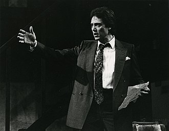 Monologue - Actor Christopher Walken performing a monologue in the 1984 stage play Hurlyburly
