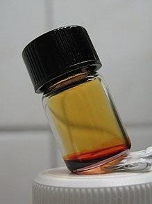 Chromyl chloride in vial