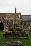 Church Cross in churchyard, 10 metres south of Church of St Andrew