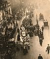 Church League for Women's Suffrage procession, c.1909-1914. (22897563366).jpg