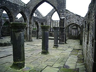 Hebden Bridge - The old ruined church of Heptonstall