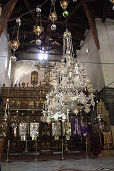 Church of the Nativity iconostasis 2010 13.jpg