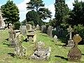Churchyard, St Mary the Virgin's church, Caldicot - geograph.org.uk - 1462236.jpg