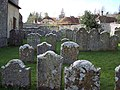 Churchyard at St Andrew's Church, West Dean - geograph.org.uk - 425495.jpg
