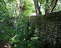 Churchyard wall at Monkton Kent England.jpg