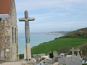 Grave - Graveyard in Varengeville-sur-Mer, France
