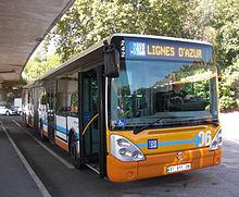 Liste des r seaux de transports urbains et interurbains de for Bus salon marignane