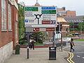 City Loop road sign, Eastgate, Leeds (30th May 2014).JPG