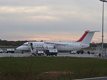 British Aerospace Avro RJ-85 Cityjet, vol Brive London City