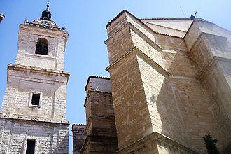 Ciudad Real Cathedral - Image: Ciudad Real Catedral de Nuestra Señora del Prado 1