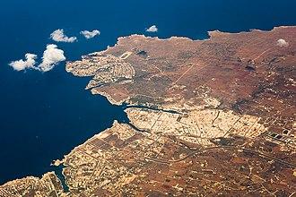 Ciutadella de Menorca - Ciutadella from the air