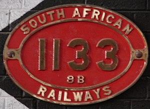 South African Class 8B 4-8-0 - Image: Class 8B 1133 (4 8 0)
