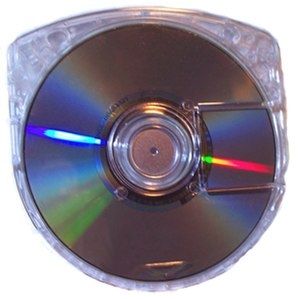 Universal Media Disc - An image of Multimedia Recovery's UMD replacement case.