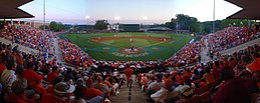 Clemson béisbol 1.jpg panorámica
