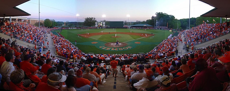 Clemson baseball panoramic 1
