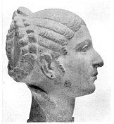 Cleopatra bust in the British Museum, side view.jpg