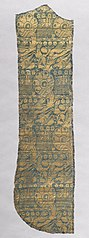 Chasuble Fragment with Realistic Animals