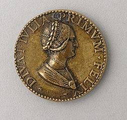 Diva Julia (obverse) Dubia Fortuna (reverse)