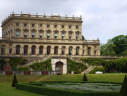 A contemporary view of Cliveden, Nancy Astor's country house that served as a hospital in the World Wars