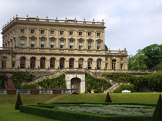 "Italianate architecture - Cliveden: Charles Barry's Italianate, Neo-Renaissance mansion with ""confident allusions to the wealth of Italian merchant princes."""