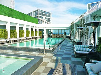 Icon Brickell - Image: Club 50 Viceroy Downtown Miami