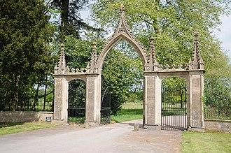 Clytha Park - Clytha Park, Monmouthshire - The Gates