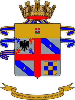 Pozzuolo del Friuli Cavalry Brigade - Image: Co A mil ITA rgt cavalleria 04