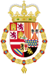 Coat of Arms of Charles II of Spain (1668-1700).svg