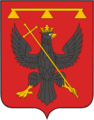 Coat of Arms of Odoev (Tula oblast) (2001).png