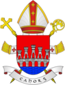 Coat of Arms of diocese of Cahors.png