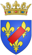 Coats of arms of the Dukes of Vendôme (legitimised princes of the blood).png