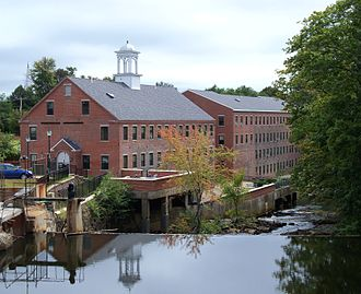 Rochester, New Hampshire - The Cocheco River provided power for the city's early factories and mills.