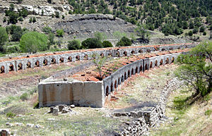 Raton Basin - Coke ovens at Cokedale, west of Trinidad