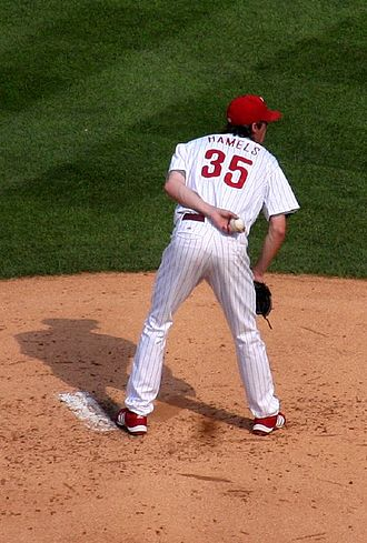 Cole Hamels - Hamels pitching in 2007