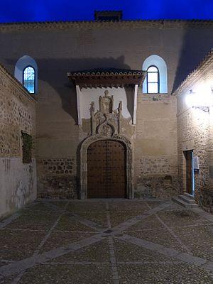 Convento de San Juan de la Penitencia, Toledo - Facade of the Convento de San Juan de la Penitencia