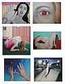 Collage of Paintings from a Precarious World by Tom Franz.jpg