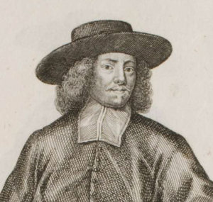Leopold Karl von Kollonitsch - Detail of another engraving of Kollonitsch by Weigel, 1703