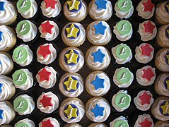 File:Colourful First Birthday Cupcakes (3502231880).jpg
