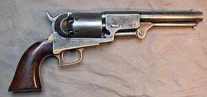 Colt Dragoon Revolver - Image: Colt Dragoon 2nd Mod 1848