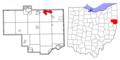 Columbiana County Ohio Highlight Columbiana.png