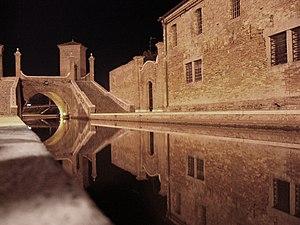 Idrovia Ferrarese - Comacchio by night