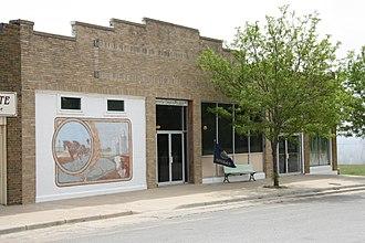 Comanche County, Kansas - Image: Comanche County Museum, Coldwater, Kansas