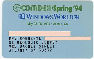 COMDEX - COMDEX 1994 badge