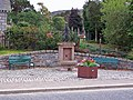 Commemorative fountain, Braemar - geograph.org.uk - 1504020.jpg