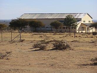 Kgomokasitwa - Image: Community Hall, Kgomokasitwa
