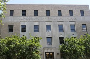 Concordia Parish, Louisiana - Image: Concordia Parish, LA, Courthouse in Vidalia IMG 6910