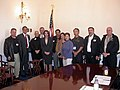 Congresswoman Pelosi meets with members of San Francisco International Laborers; March 31, 2004.jpg