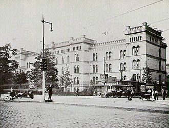 Erasmus MC - The Coolsingel Hospital in 1929.