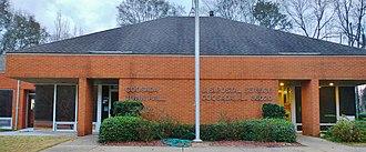Coosada, Alabama - Coosada, Alabama Town Hall and Post Office