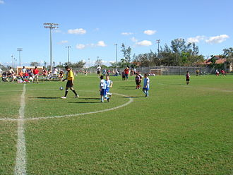 Coral Springs, Florida - Coral Springs Youth Soccer League Game, Cypress Park